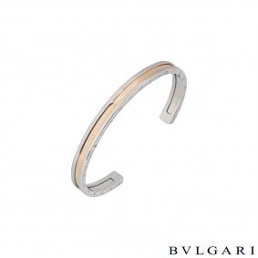 Bvlgari Steel & Yellow Gold B.Zero1 Bracelet 345575